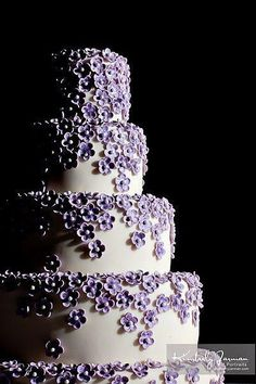 One of my faves by Sedona Cake Couture-xxoo Pretty Cakes, Cute Cakes, Beautiful Cakes, Amazing Cakes, Beautiful Things, Purple Wedding Cakes, Unique Wedding Cakes, Wedding Ideas, Bling Wedding