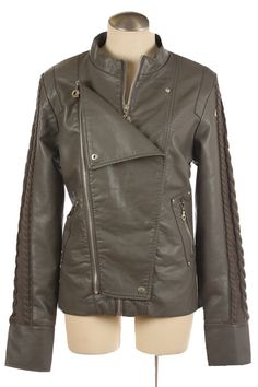 Double Layer Motorcycle Jacket: $50  Sizes Avail S, M, L, XL  Colors Avail: Grey