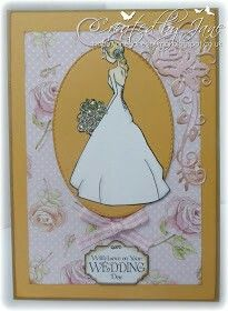 Country style wedding card