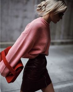 mini jupe cuir