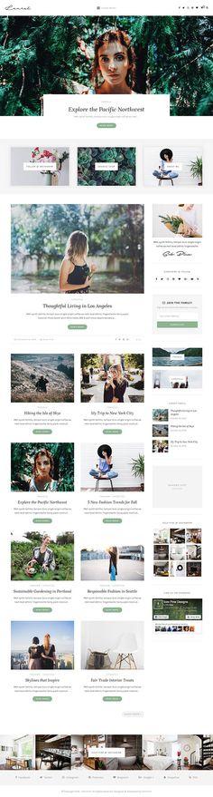 Laurel - A WordPress Blog & Shop Theme                                                                                                                                                                                 More