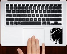 Bloody Handprint Sticker Decal Trackpad Laptop Macbook Car Bumper Vinyl Decor