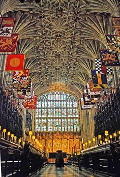 Inside Windsor Castle | Inside St George's Chapel - Windsor Castle | Flickr - Photo Sharing!