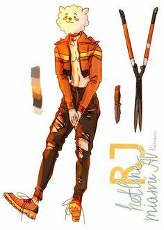 Bts Chibi, Seokjin, Character Art, Character Design, Fanart Bts, Kpop Drawings, Dibujos Cute, Bts Fans, Illustrations