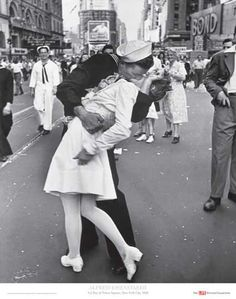 The Photograph That Isnt as Romantic as You Might Think  V-J Day, Times Square, 1945, a.k.a. The Kiss  Alfred Eisenstaedt, 1945