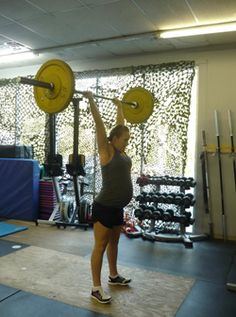 Crossfit MOMS, great website for cross fitting while pregnant!