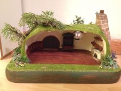 Hand Carved Itty Bitty Hitty with Hobbit House Furniture Petite Blythe Dress   eBay