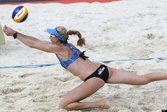 Kerri Walsh  From Santa Clara  Event Beach Volleyball