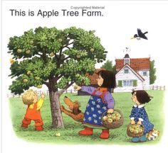 Vintage books for kids Vintage picture from the book The Complete Book of Farmyard Tales (Usbourne Farmyard Tales) by Usborne Pub Ltd Vintage Books, Vintage Art, Apple Tree Farm, Farm Yard, Vintage Pictures, Vintage Children, Cute Art, Childrens Books, Illustrators