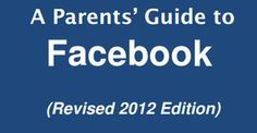 A Parents' Guide to Facebook - ConnectSafely