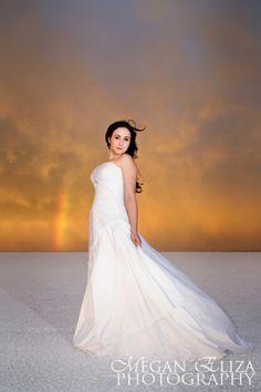 Irina - Salt Flats - Highlights - Utah Wedding Photographer | Megan Eliza Photography