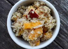 Work quinoa into your breakfast!
