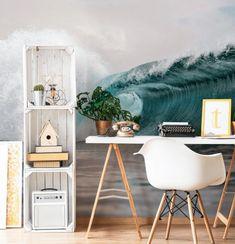 25 Ocean Themed Bedroom Ideas: How to Design an Beach Bedroom DIY Ocean / Beach Theme Schlafzimmer I Surf Bedroom, Bedroom Themes, Bedroom Ideas, Bedroom Inspiration, Surf Theme Bedrooms, Diy Bedroom, Girls Beach Bedrooms, Bedroom Designs, Beach Theme Rooms