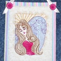 SERENITY ANGEL 5x7   Beautiful framed for wall or nightstand, gorgeous for a pillow or featured on wall hangings, in quilts, a perfect choice for journal covers too! The choices are endless !!!  $5.00