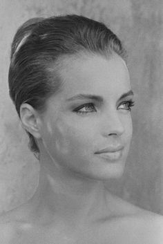 Romy Schneider, Taken by Jean-Pierre Bonnotte in St. Tropez during the same time Romy was filming La Piscine with Alain Delon. Romy Schneider, Beautiful Celebrities, Beautiful Actresses, Hippie Man, Actrices Hollywood, Belle Photo, Old Hollywood, Movie Stars, Famous People