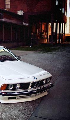 1980s BMW 635CSi | Classic BMW | Classic Bimmers | Classic Cars | Car | Car photography | dream car | collectable car | drive | sheer driving pleasure | Schomp BMW