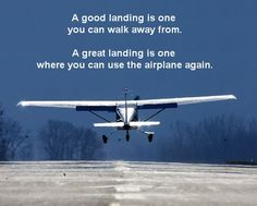 training material for pilots & safety in aviation Airplane Quotes, Aviation Quotes, Aviation Humor, Aviation Fuel, Aviation Training, Aviation Theme, Pilot Training, Pilot Quotes, Fly Quotes