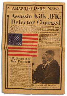 kennedy assassination newspaper headlines | Lot Detail - JFK Assassination Newspaper -- 23 November Edition of the ...