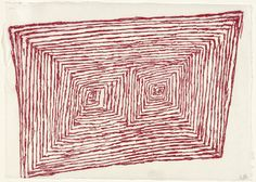 Louise Bourgeois. Has the Day Invaded the Night, or Has the Night Invaded the Day?, plate 5, trial proof, variant, from What is the Shape of this Problem? (1999)