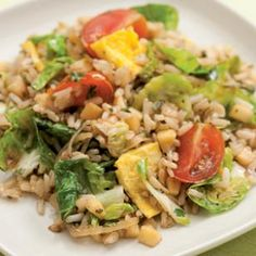Farmers' Market Fried Rice - Healthy food recipes, Chinese recipes.
