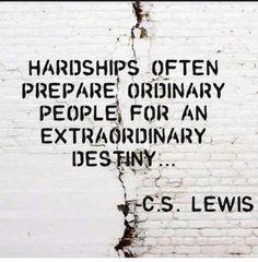 Hardships / C.S. Lewis