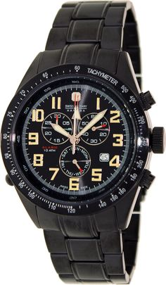 Hanowa Swiss Military Night Rider Men's watch Alarm