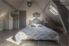 Nel Nord della Francia una chambre d'hotes molto chic … Location Meublée, Shabby Chic, Sleep, Cottage, Architecture, House, Inspiration, Furniture, Bedrooms