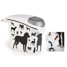 Curver fôrboks helleåpn. 15 liter -6kg Dogs Dogs, Pet Dogs, Doggies, Dog