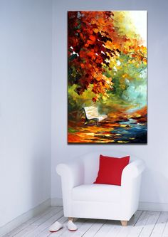Paisajes Big Canvas Art, Abstract Canvas, Bedroom Canvas, Painting Templates, Buddha Painting, Acrylic Painting Techniques, Garden Painting, Art N Craft, Texture Painting