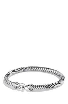 David Yurman 'Cable Buckle' Bracelet with Diamonds | Nordstrom