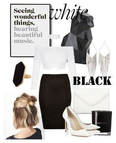 """""""Sin título #15"""" by florrarrighi ❤ liked on Polyvore featuring River Island, Neiman Marcus, PyroPet, Matter and Home, Jimmy Choo, Jaeger and Jules Smith"""