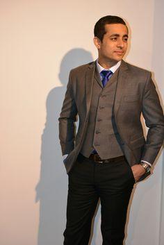 Kolmiosainen puku on tyylikäs klassikko. Lue miten voit varioida sitä ja leikkiä tyylillä.