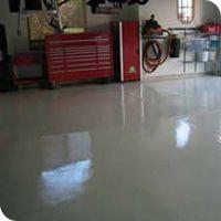 basement floor finish