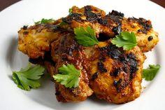 Grilled Sriracha Barbecue Chicken