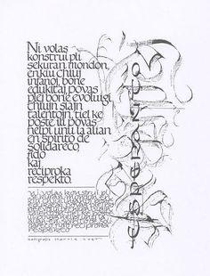 KALOSGRAFEIN - Hedendaagse kalligrafische werken