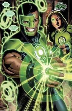 Simon Baz Earns An Original 7 Green Lantern Ring Jessica Cruz Green Lantern, Green Lantern Green Arrow, Green Lantern Comics, Green Lanterns, Blue Lantern, Dc Comics Art, Marvel Dc Comics, Cosmic Comics, Heroes Reborn