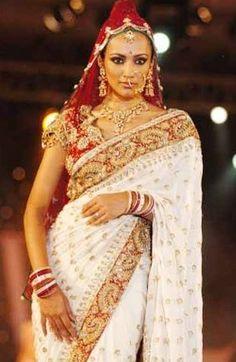 hemant_sheetal_saree minus nose ring and head scarf