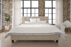 Harris Upholstered Platform Bed