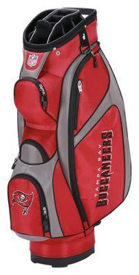 Wilson NFL Team Cart Golf Bag - Tampa Bay Buccaneers