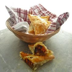 Confit of duck and butternut squash pasties ~ not very Cornish but delish.