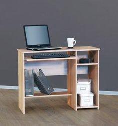 PC-Tisch Computertisch Schreibtisch - in verschiedenen Farben (sonoma Eiche sägerau)