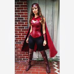 Instagram media by artfromthestart - My First Time Cosplaying. Here's My Interpretation of Scarlet Witch #scarlet#witch#scarletwitch#cosplay#marvel#avengers#ageofultron#ultron#wanda#maximof#super#hero#superhero#mutant#nomoremutants#miracle#xmen#selfie#costume#design#corset#leather#red#makeup#beauty#cosmetics#hair#hairstyle#comics#comicbook
