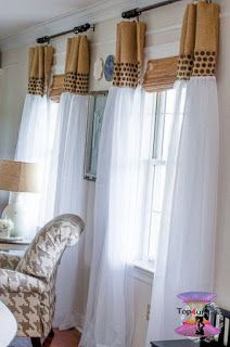 اشكال ستائر مودرن شيك وجديدة بأحدث موضة الستائر للعرسان Modern Curtains 2020 Diy Curtains Home Decor Sheer Window Coverings