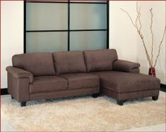 Abbyson Living Sectional Sofa Set Camden AB-55CI-1195-BRN by Abbyson Living. $999.00. Sectional Sofa Set Camden Collection by Abbyson Living. This sectional sofa has a minimalist design combined with a transitional shape makes this an essential home item and the imaginative connected plush seating design adds incredible dimension. Crafted details such as rich mocha padded micro-suede upholstery, plush 1.8 high-density polyurethane foam wrapped in Dacron cushioni...