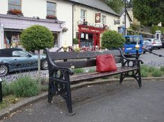 Poppies! A coffee shop in Enniskerry, Ireland.  Filming location of the bus scene in 'Leap Year'