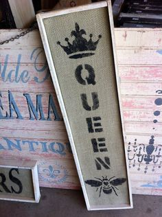 Queen Bee. Oh! That would be me! ; )