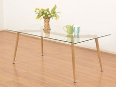 Wilbur Glass Top Coffee Table by Housefull