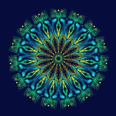 frémissement ! shudder ! estremecimento ! Mandala de Pierre Vermersch Digital Drawings
