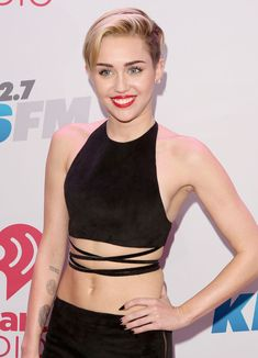 Miley Cyrus Photos - Recording artist Miley Cyrus attends KIIS FM's Jingle Ball 2013 at Staples Center on December 6, 2013 in Los Angeles, CA. - KIIS FM's Jingle Ball 2013 Presented By T-Mobile In Partnership With Samsung - Backstage