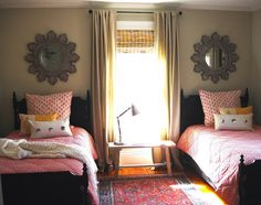 black painted beds
